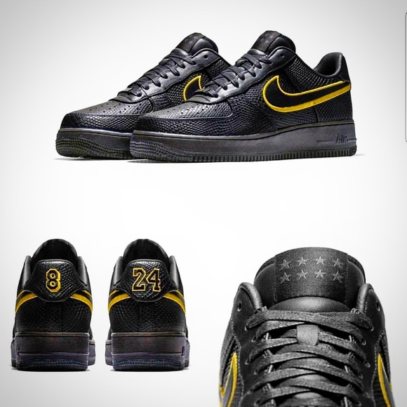 NWB NIKE AIR FORCE 1 MAMBA ONLY 1000 MADE SIZE 13